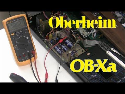 Synthchaser #070 - Matrix's Oberheim OB-Xa Repair - Power Supply & Voice Card Rebuilds