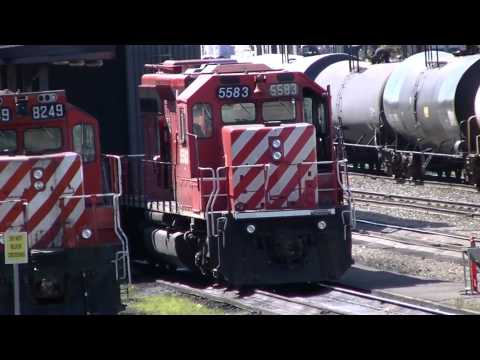 Canadian Pacific,# 9,July 1 2014,Alyth,Calgary,Diesel Shop