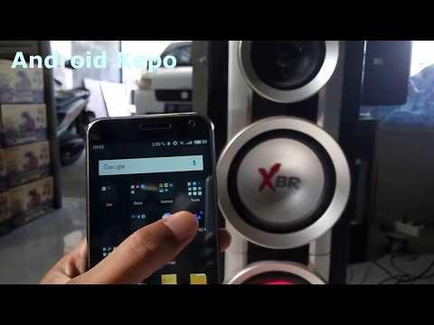 cara sambung HP ke Speaker dengan alat bluetooth audio reciever