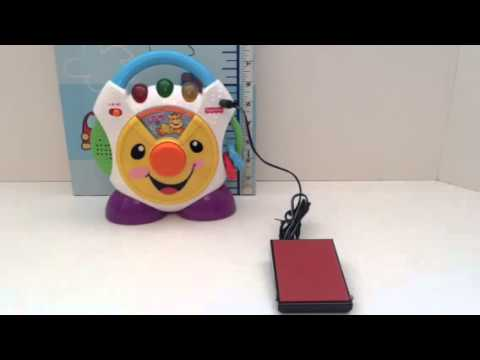 Switch Adapted Fisher Price Nursery Rhymes CD Player