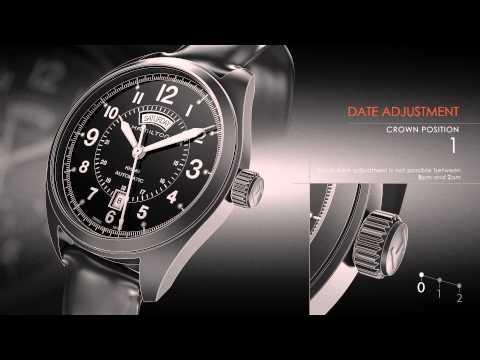 Video Manual   CALIBER 2834-2 / 2836-2 / H-30 / H-40   Hamilton Watch