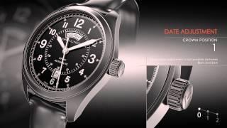 Відео інструкція | Калібр 2834-2 / 2836-2 / год-30 / з-40 | Гамільтон годинник