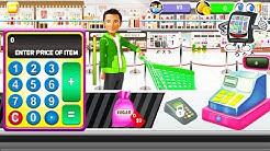 SHOPPING MALL KASSIERER MÄDCHEN App Deutsch - Nervige Kunden im Supermarkt! Spiele für Kinder
