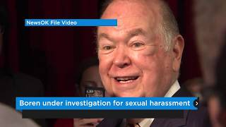 Boren under investigation for sexual harassment