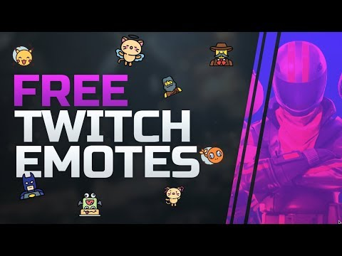 100% FREE Twitch Emotes & Sub Badges // Starting A Twitch Channel