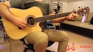 Washburn WD10-SCE - Elektro Akustik Gitar İncelemesi (Hızlı Video)