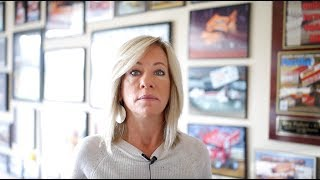 Greg Hodnett's widow, Sherry, talks about safety in sprint car racing