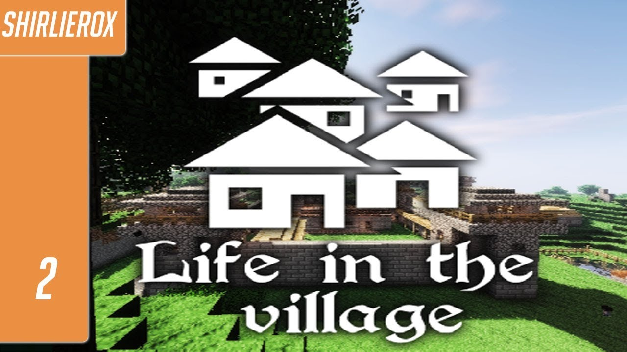 Minecraft Life in the village mod - Cave Exploring - Minecraft Life in the  village ep #2