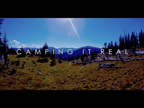 Camping It Real - Ep05: The View Across the Olympic Mountains (4K GoPro)
