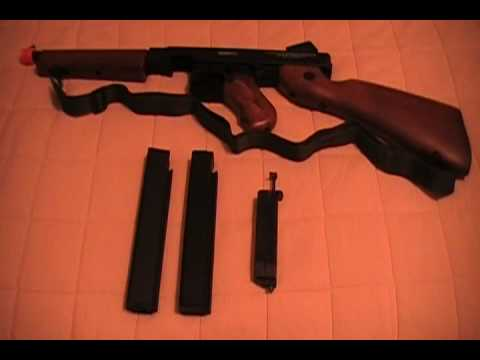 Cybergun Thompson M1a1 Disassembly Thompson M1a1 by Cybergun