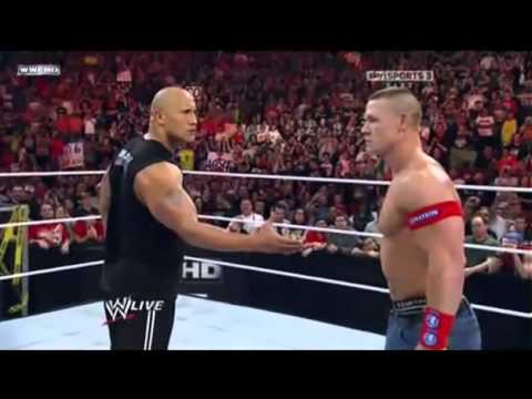 Thumbnail: The Corre Attack John Cena and The Rock