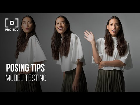 What Are Great Posing Tips For Model Testing In Fashion Photography | PRO EDU Tutorial thumbnail