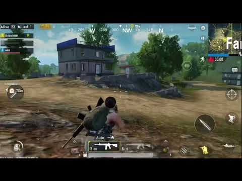 PUBG mobile game-play #1 so close