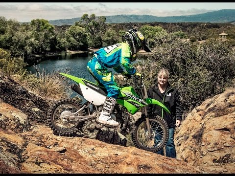 2016 kawasaki klx 110 - off road motorcycle - youtube