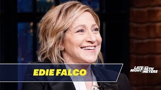Edie Falco Shot Scenes from Tommy in NYC Snowstorms