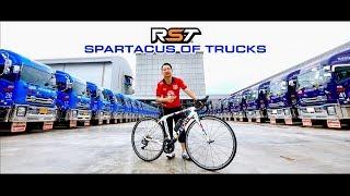 คุณธามม์ RST เจ้าของรถบรรทุกอีซูซุ คิงออฟทรัคส์  ลาย สปาตาคัส