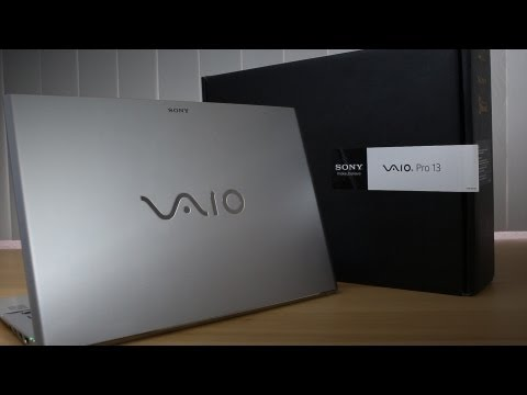 Sony VAIO Pro 13 Labtop - Unboxing + Giveaway!