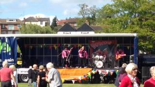 Stourport on Severn 50s Rock N Roll show 31st May 2015 - The Bobcats (pictures at end of clip)