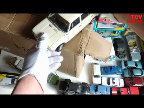 Самые крутые машинки модельки в моей коллекции!Распаковка и обзор.Про машинки.