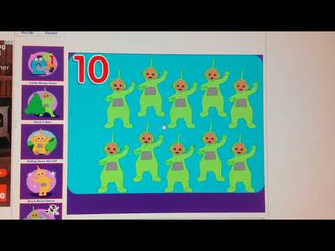 Teletubbies Let's Count Game