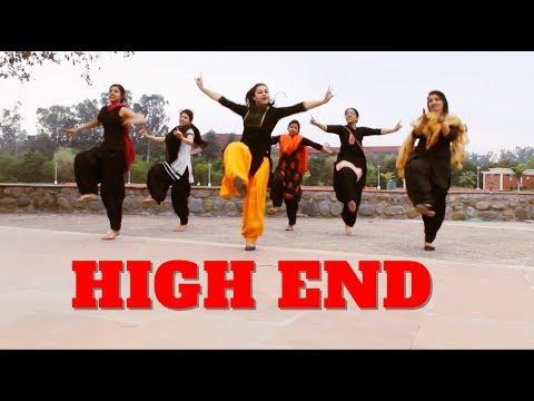 HIGH END CONFIDENTIAL | DILJIT DOSANJH | REMIX | BHANGRA | CHOREOGRAPHY