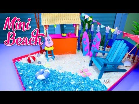 How To Make a Miniature Beach Zen Garden – DIY Stress Relieving Desk Decoration