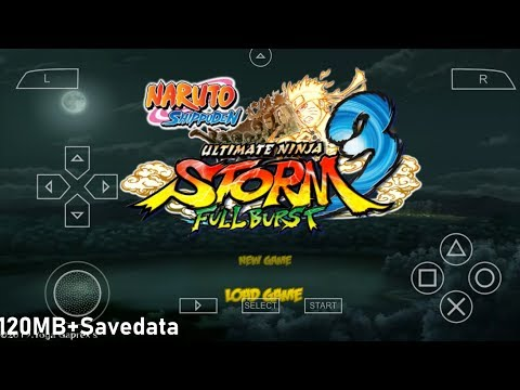 Naruto Ultimate Ninja Storm 3 Full Burst Mod ISO Download PPSSPP Android