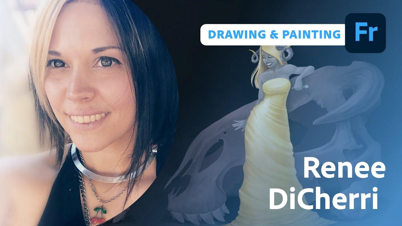 What's New in Adobe Fresco with Renee Di Cherri