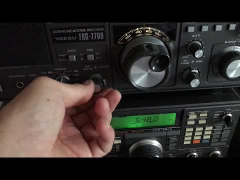 Radio Caroline 648 kHz 'Ross Revenge' signal copied in Oxford on 5 receivers