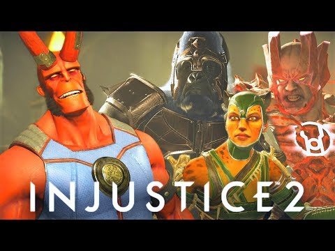 Thumbnail: INJUSTICE 2 - ALL Hellboy vs The Beasts Intro Dialogues