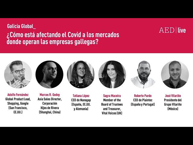 AED I Live ¿Cómo está afectando el Covid a los mercados donde operan las empresas gallegas?