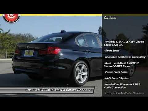 2016 Bmw 3 Series San Luis Obispo Ca Stkt43434 Youtube