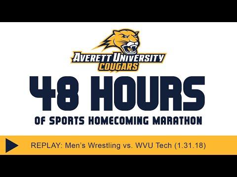 Averett men's wrestling vs. West Virginia Tech