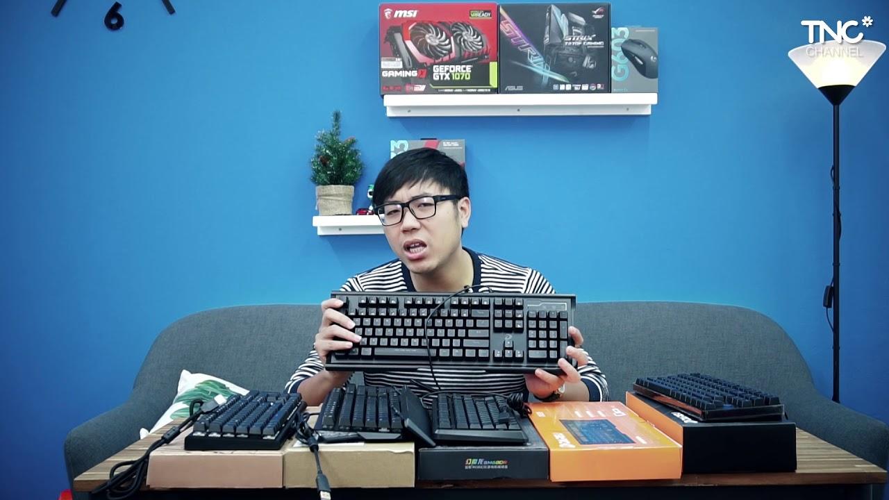 Top 5 bàn phím cơ chỉ dưới 1 triệu CHUẨN không cần chỉnh! | TNC Channel