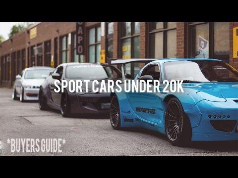 TOP 5 SPORT CARS UNDER 20K!