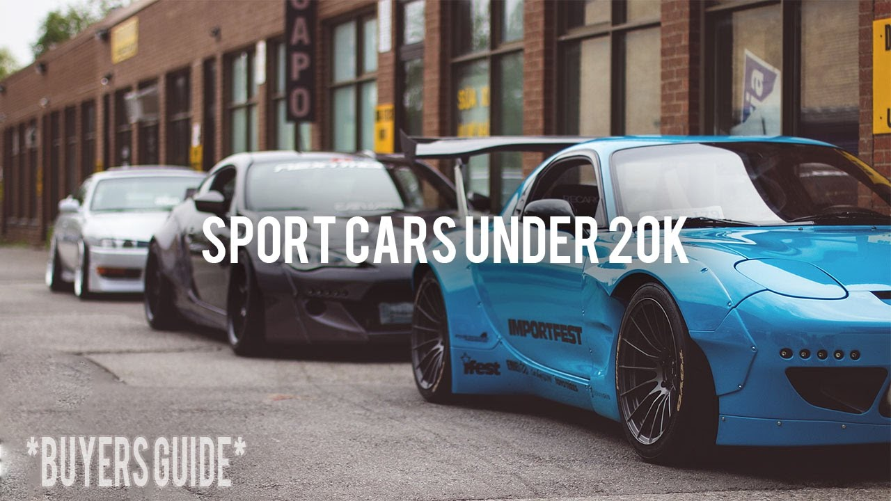 Attractive TOP 5 SPORT CARS UNDER 20K!
