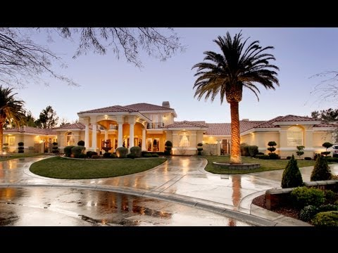 7600 Silver Meadow Court, A Mediterranean Luxury Estate in Las Vegas