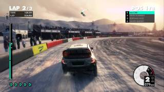 DiRT 3 - PC Gameplay (SNOW) 1080p/DX11/Maxed Out Settings MSi GTX480 on SLI