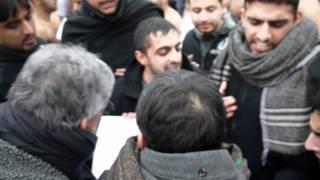 Luton Jaloos 2011 Kazmi Party - Merking Woblerz Outside Their Yazidi Temple