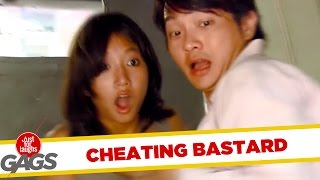 Man Caught Cheating on Injured Wife - JFL Gags Asia Edition