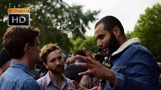 P1 - 3000 Gods!? Muhammad Hijab Vs Atheists | Speakers Corner | Hyde Park