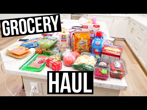 Grocery Haul For Our New House!