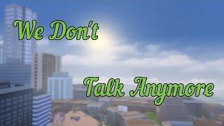 Клип в The Sims 4 {We Don't Talk Anymore}