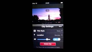 iMovie on iOS- Making Subtitles