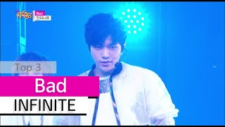 [HOT] INFINITE - Bad, 인피니트 - 베드, Show Music core 20150725