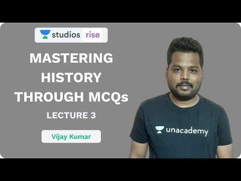 L3: Mastering History Through MCQ's | UPSC CSE/IAS 2020 | Vijay Kumar