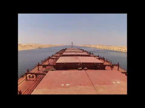 Suez Canal - Southbound Transit 20Jul2016