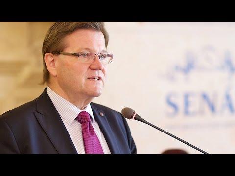 Приветственное слово заместителя председателя Сената Парламента ЧР Зденека Шкромаха