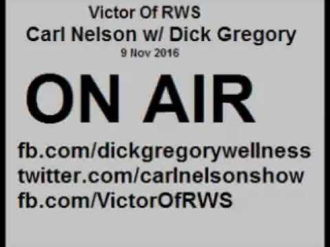 Dick Gregory- Trump's Election Isn't Over, Pullman porters, Tungsten & 1.5 million missing Black men