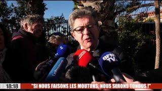 """Jean-Luc Mélenchon : """"Si nous faisons les moutons, nous serons tondus"""""""